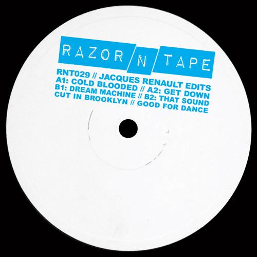 "Jacques Renault/RAZOR-N-TAPE EDITS 12"""