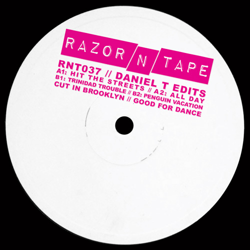 """Daniel T/RAZOR-N-TAPE EDITS 12"""""""
