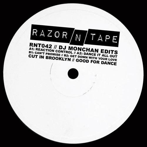"DJ Monchan/RAZOR-N-TAPE EDITS 12"""