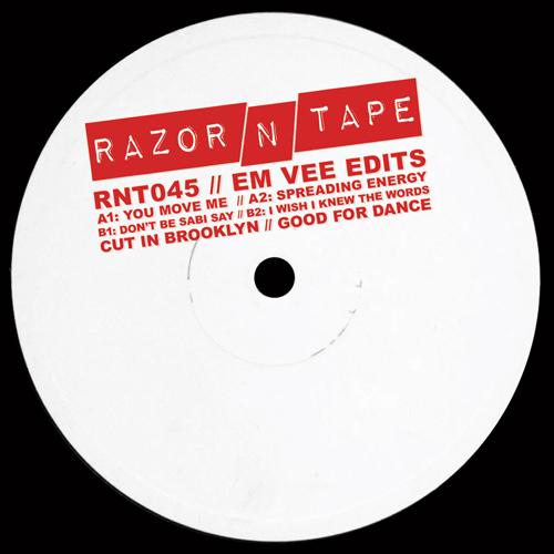 "Em Vee/RAZOR-N-TAPE EDITS 12"""