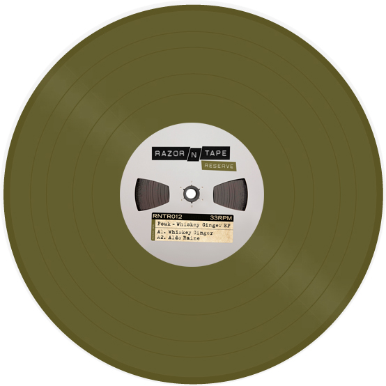"""Fouk/WHISKEY GINGER EP 12"""""""