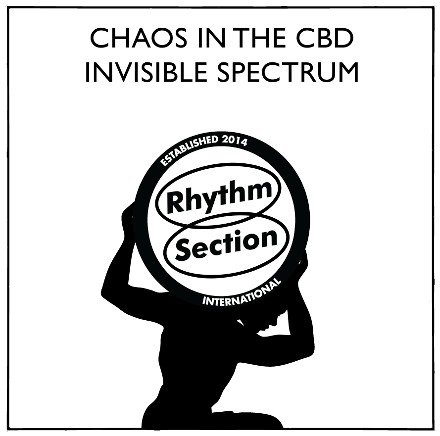 Chaos In The CBD/INVISIBLE SPECTRUM 12""