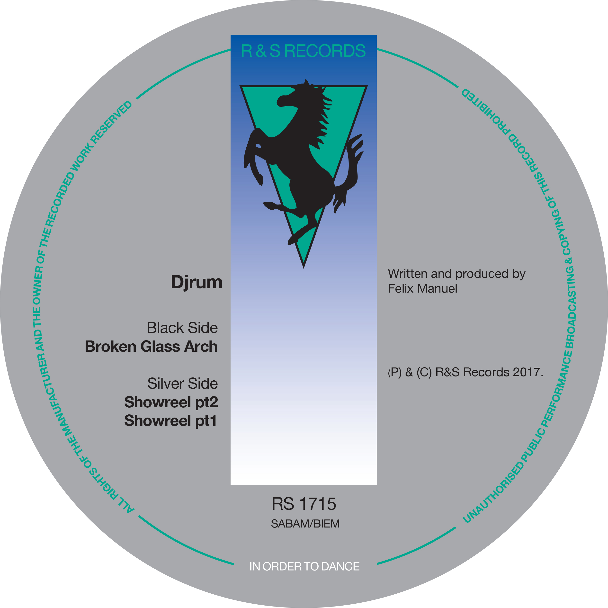 Djrum/BROKEN GLASS ARCH 12""