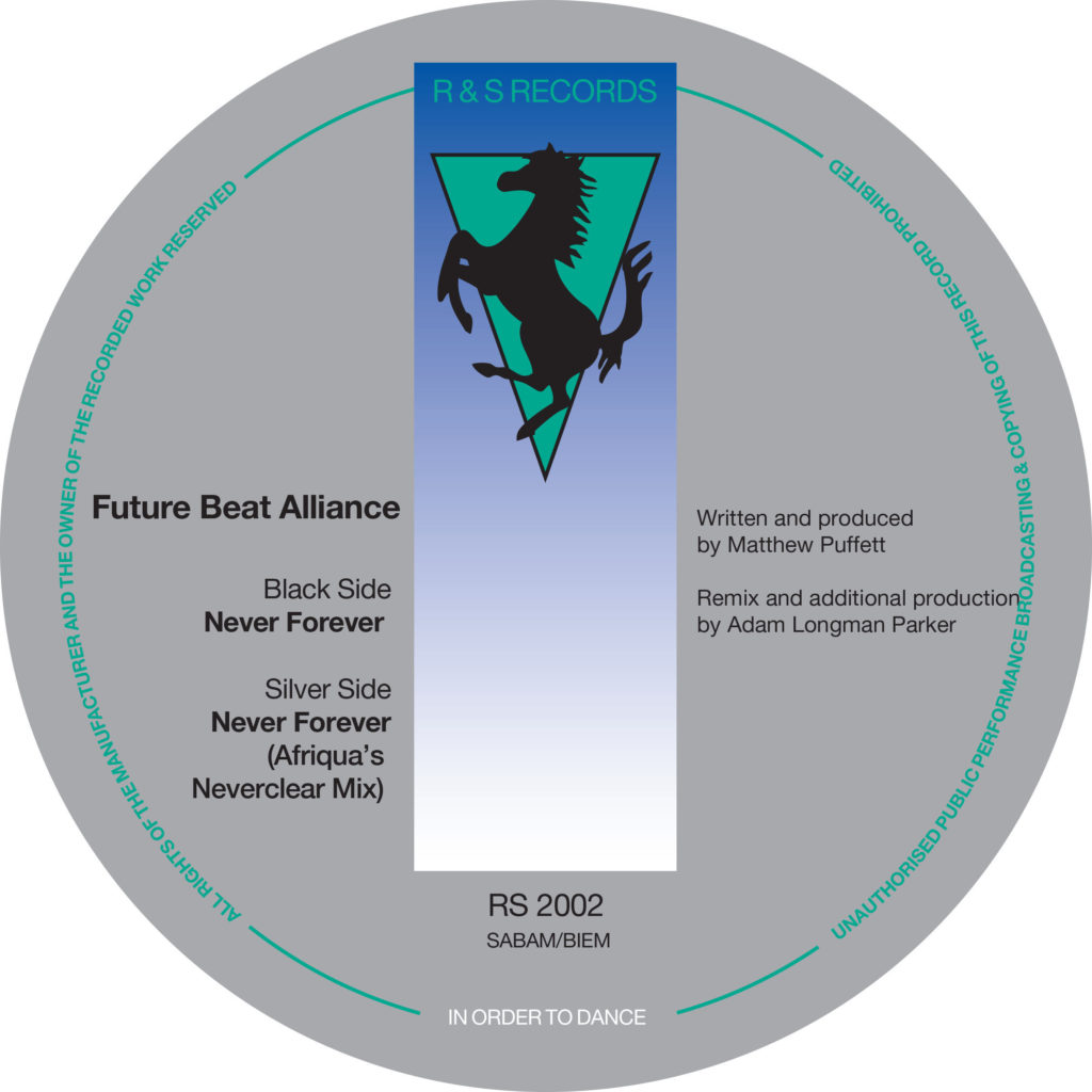 """Future Beat Alliance/NEVER FOREVER 12"""""""