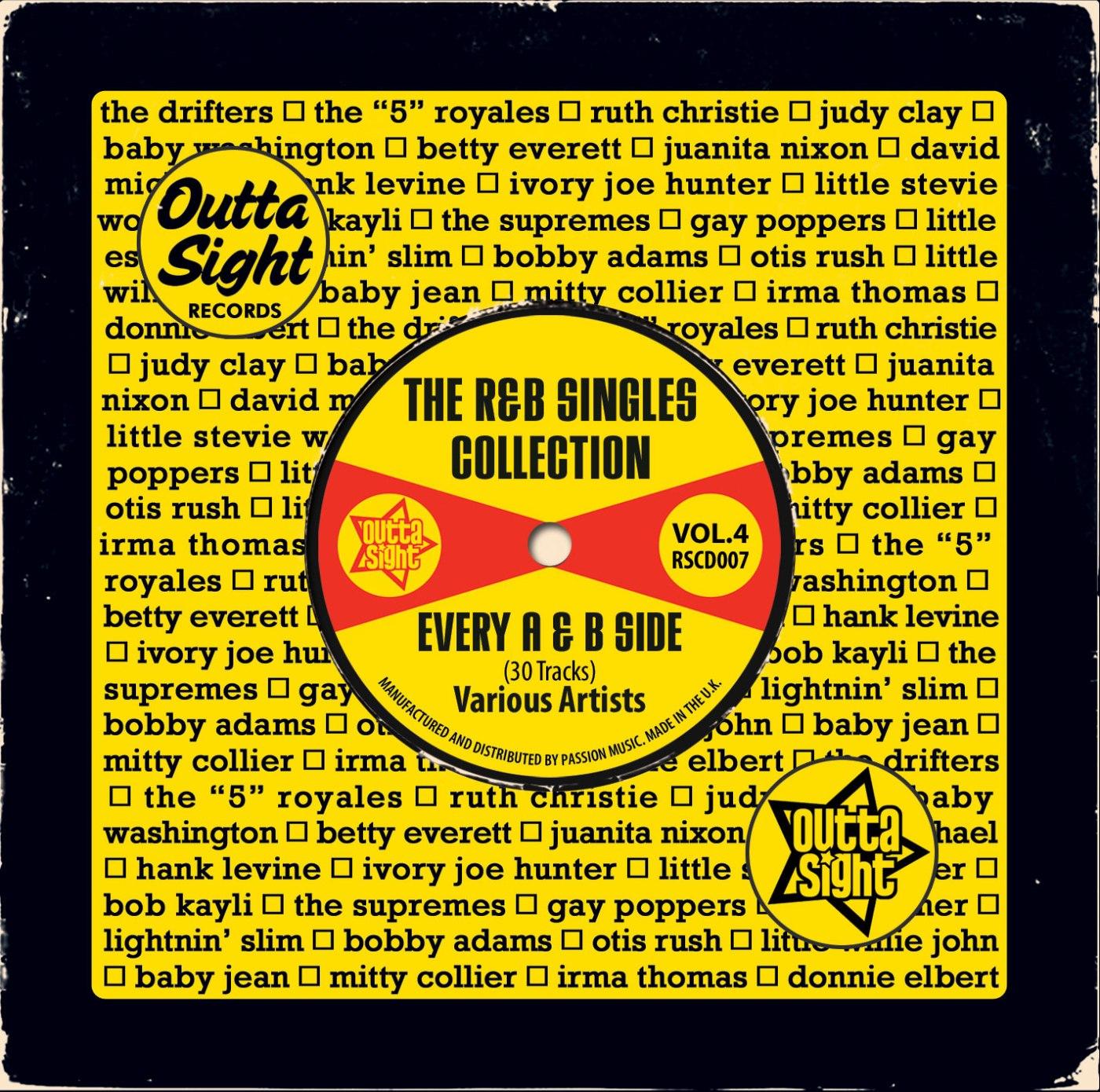 Various/OUTTA SIGHT R&B SINGLES VOL 4 CD
