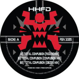 HHFD/TOTAL CONFUSION (2018 REMIXES) 12""
