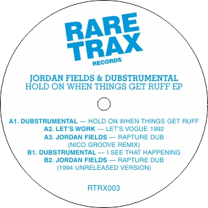 Jordan Fields/HOLD ON WHEN THINGS...12""