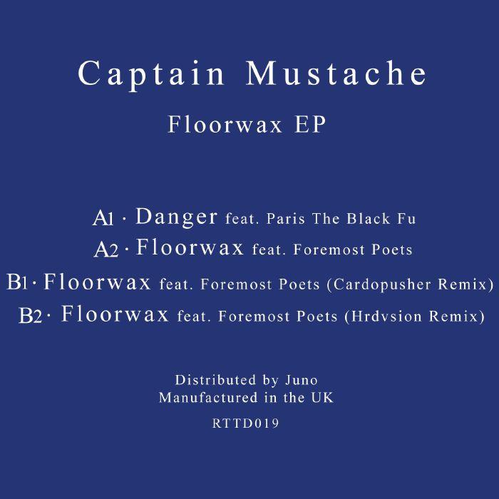 "Captain Mustache/FLOORWAX EP 12"""