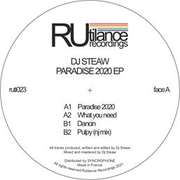 "DJ Steaw/PARADISE 2020 12"""