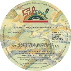 "Various/SALSOUL BOOGIE ESSENTIALS #2 12"""