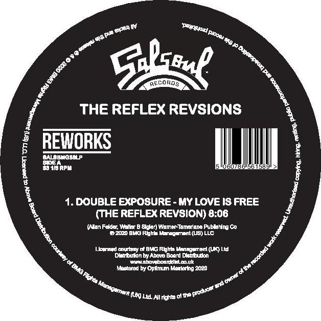 """Reflex/SALSOUL REVISIONS PT 2 12"""""""