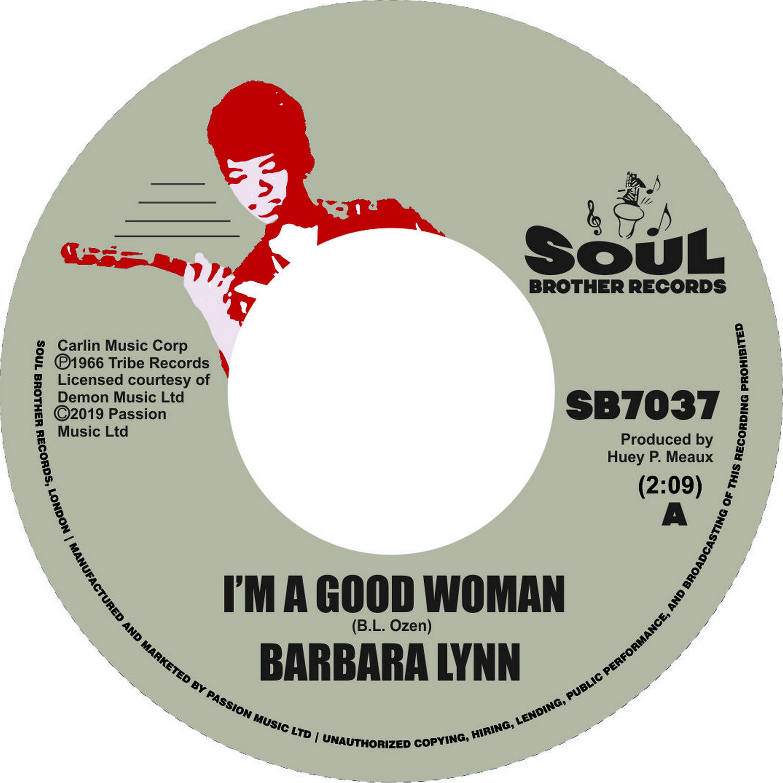 """Barbara Lynn/I'M A GOOD WOMAN 7"""""""