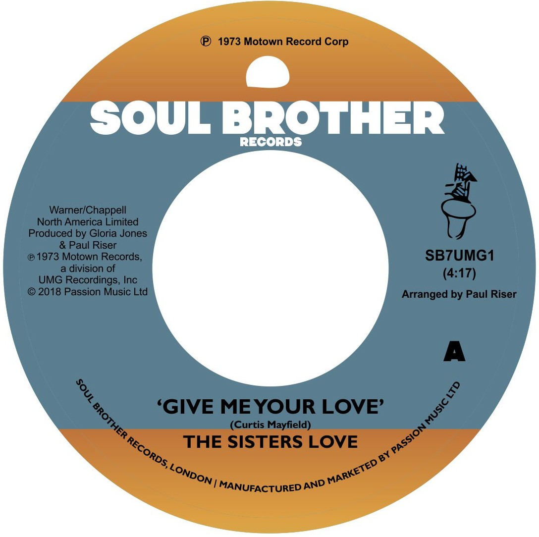 Sisters Love/GIVE ME YOUR LOVE 7""