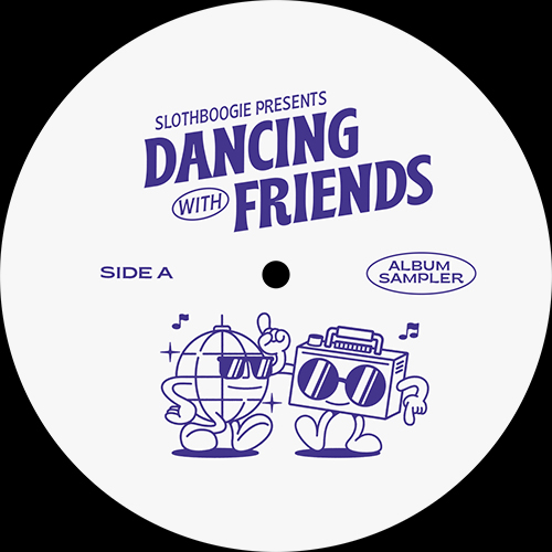 Various/DANCING WITH FRIENDS SAMPLER 12""