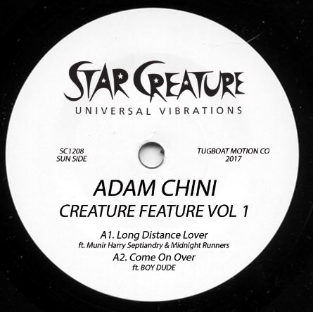 Adam Chini/CREATURE FEATURE EP 12""