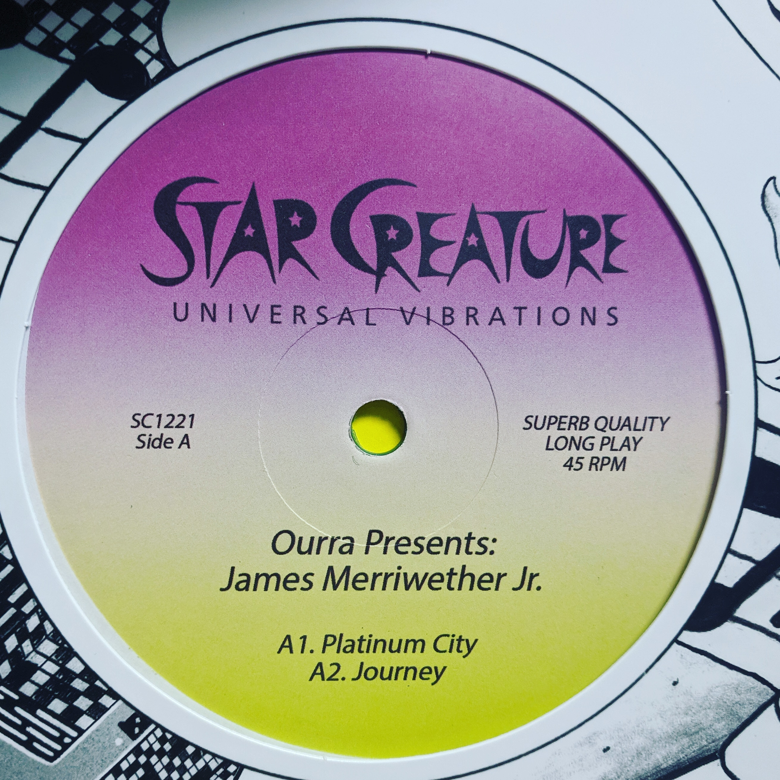 Ourra+J Merriwether Jr/PLATINUM CITY 12""