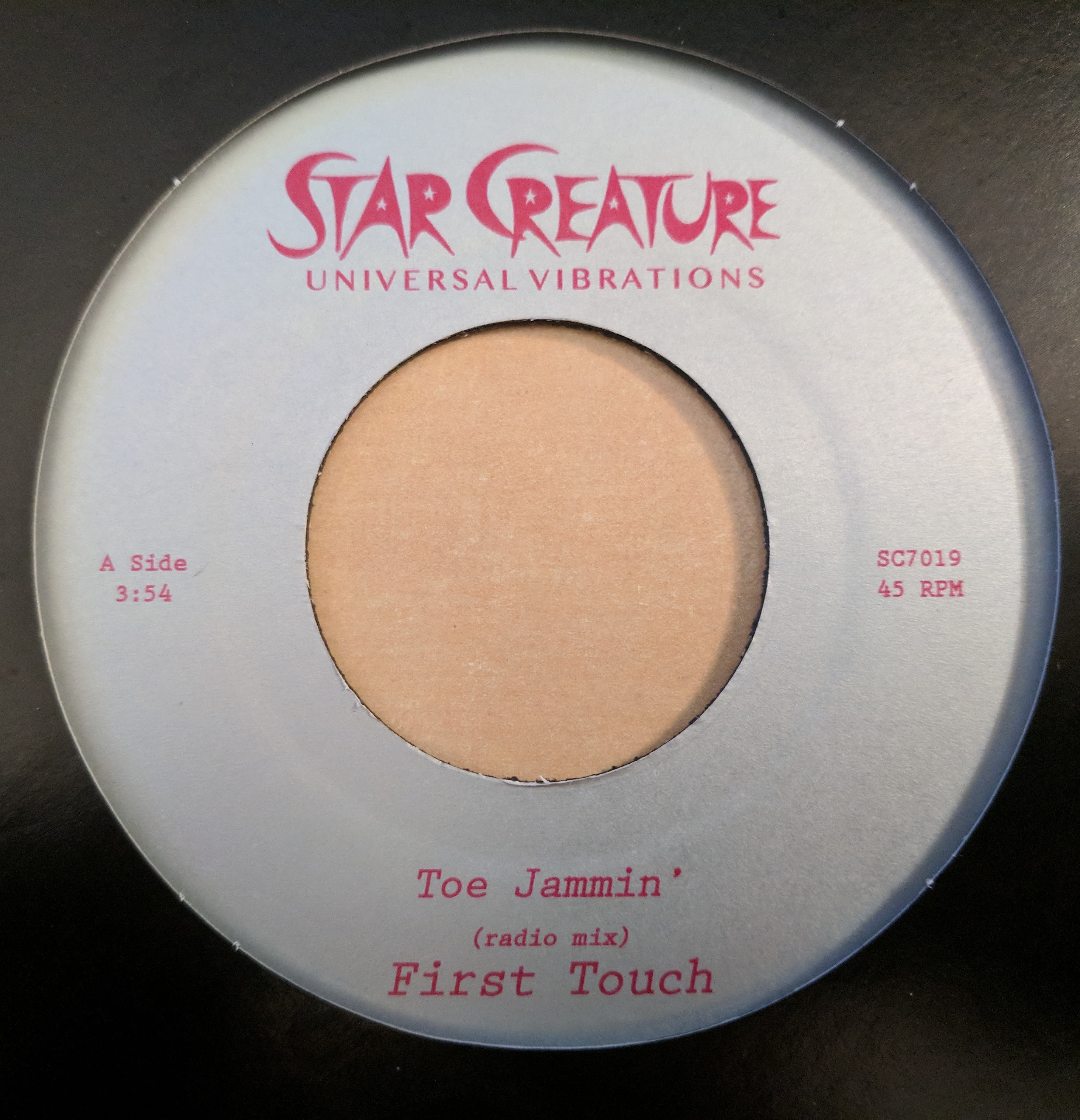 """First Touch/TOE JAMMIN' 7"""""""