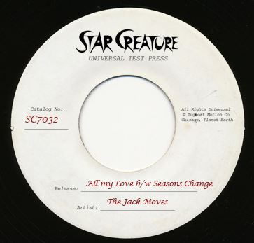 Jack Moves, The/ALL MY LOVE 7""