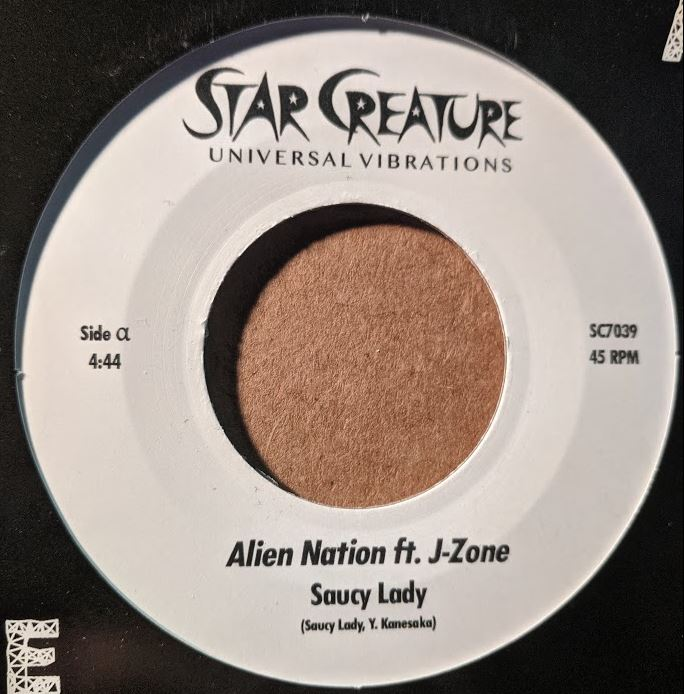 Saucy Lady/ALIEN NATION & ORBIT 7""