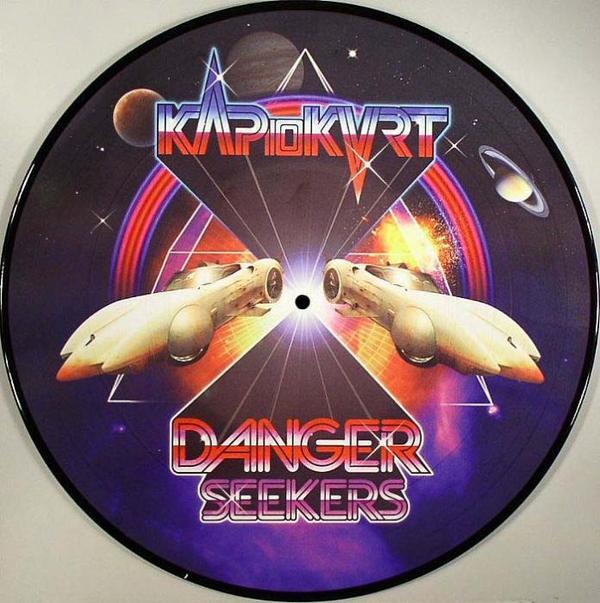"Kap 10Kurt/DANGER SEEKERS (PIC DISC) 12"""