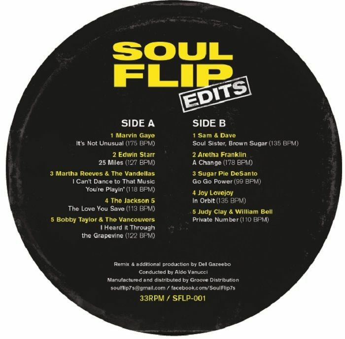 Soul Flip/SOUL FLIP EDITS LP