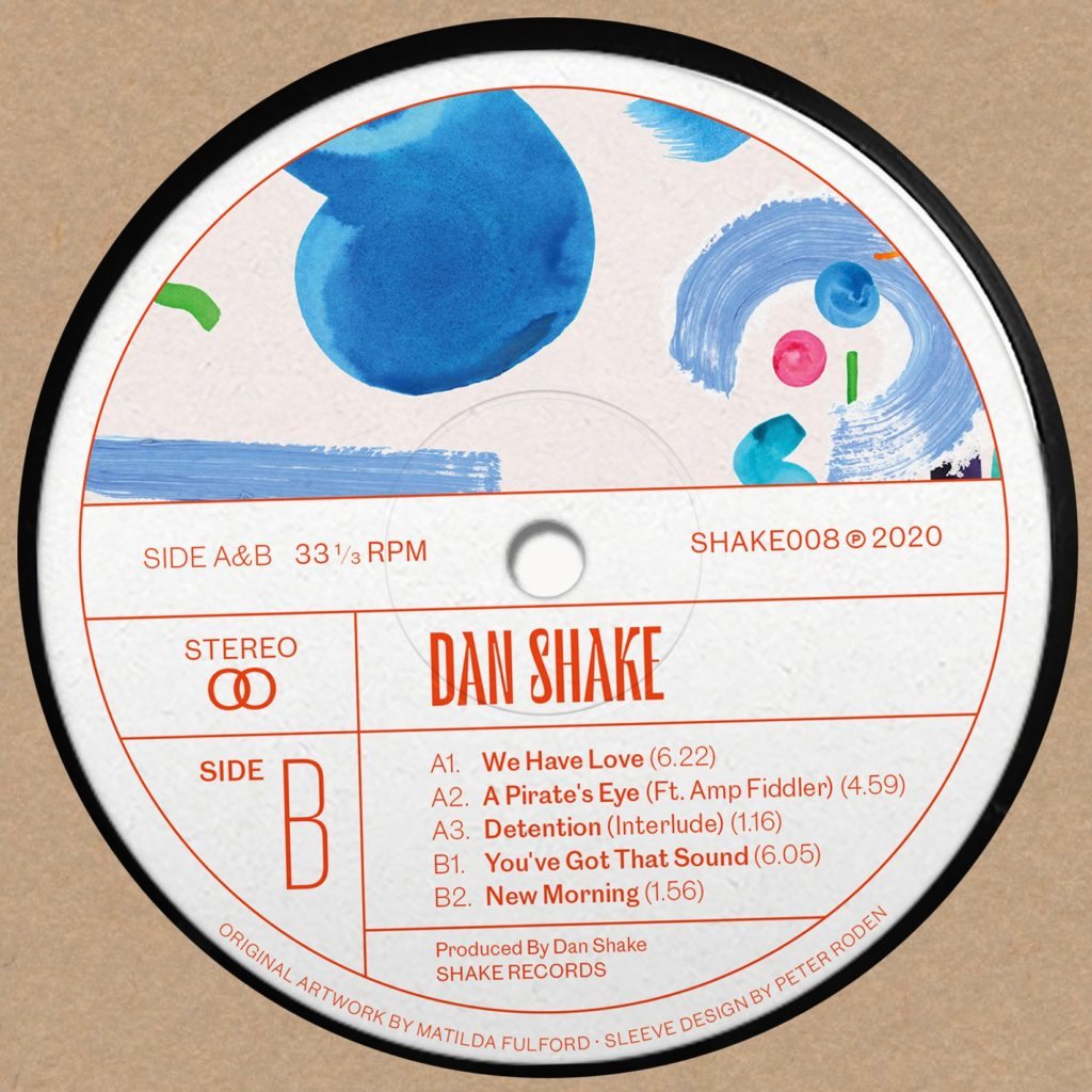 "Dan Shake/YOU'VE GOT THAT SOUND 12"""