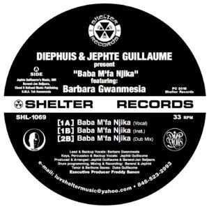 "Diephuis & Jephte Guillaume/BABA... 12"""