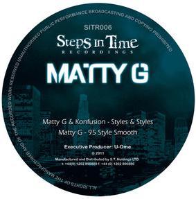 "Matty G/STYLES & STYLES 12"""