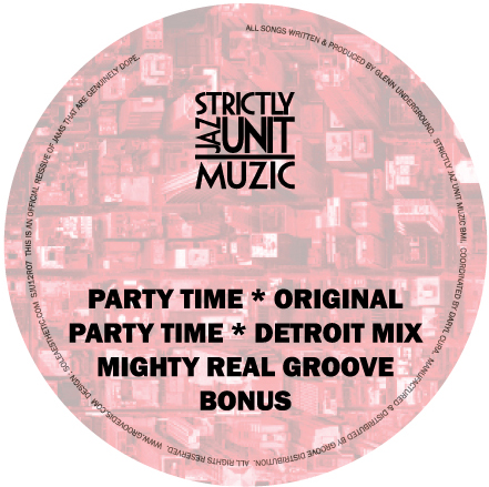 """CVO/PARTY TIME & MIGHTY REAL GROOVE 12"""""""