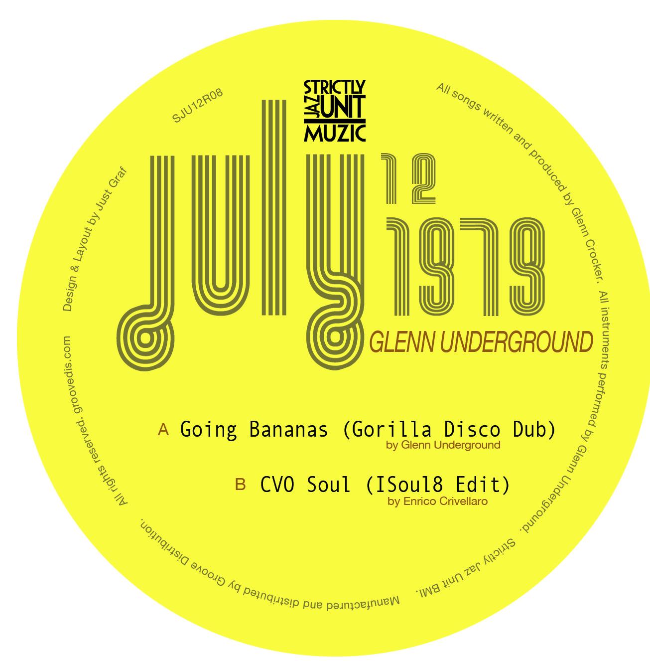 "Glenn Underground/GOING BANANAS DUB 12"""
