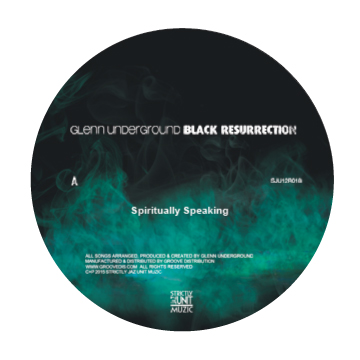 "Glenn Underground/BLACK RES EP #4 12"""