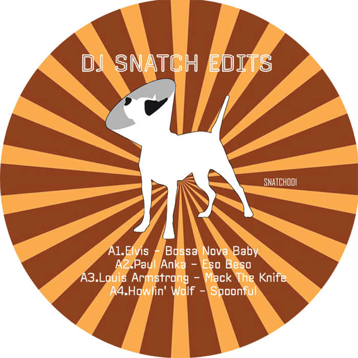 "DJ Snatch/EDITS EP 12"""