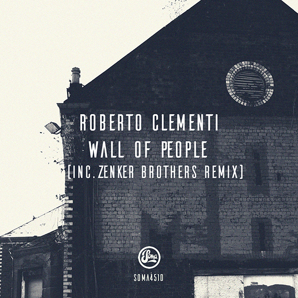 Roberto Clementi/WALL OF PEOPLE 12""