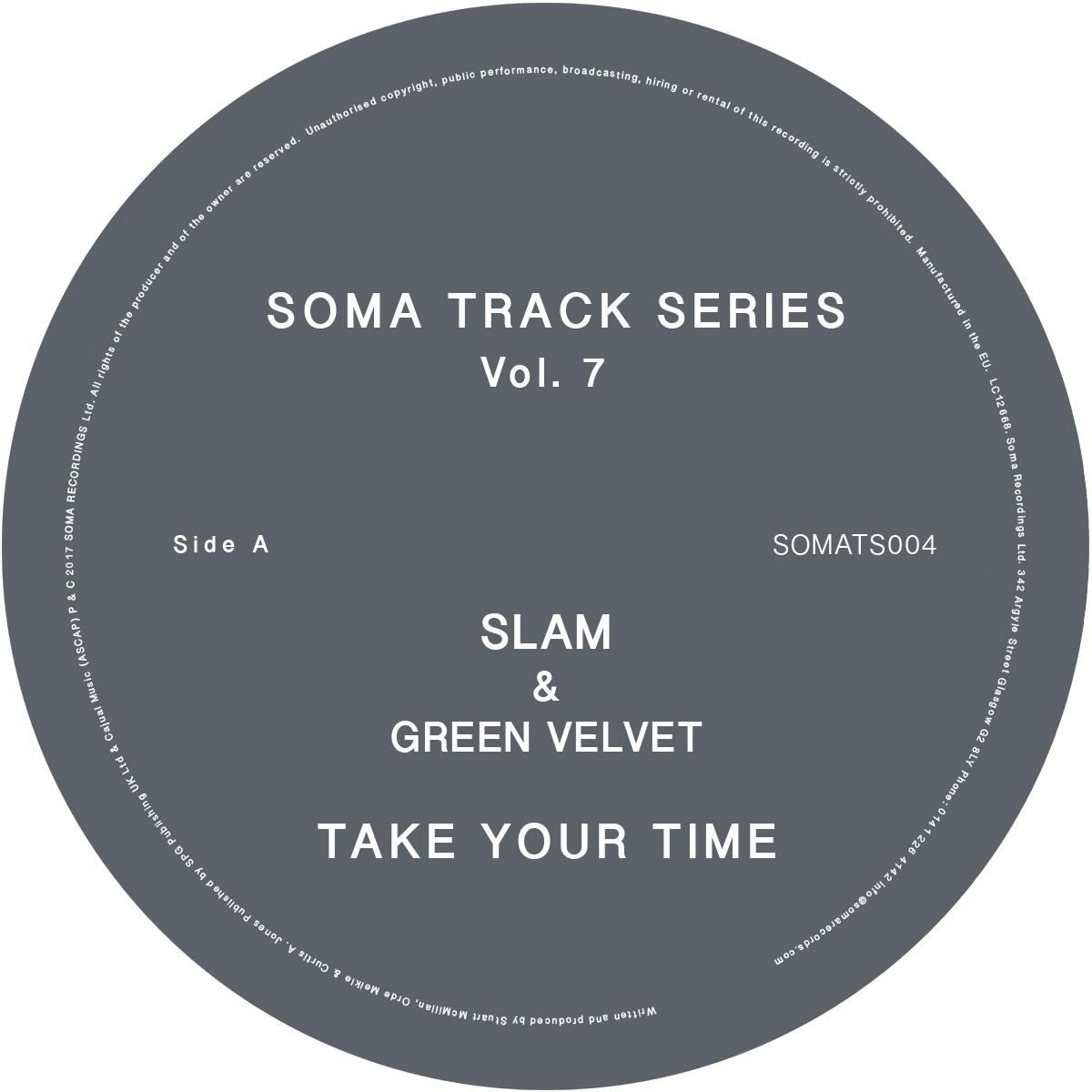 "Slam/SOMA TRACK SERIES VOL. 7 12"""