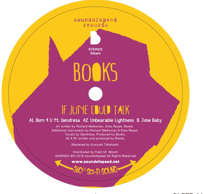 Books/IF JUNE COULD TALK 12""