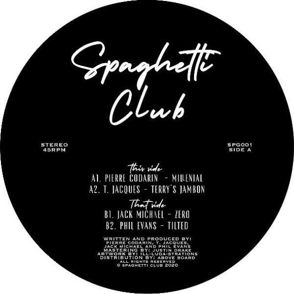 Various/SPAGHETTI CLUB 001 12""