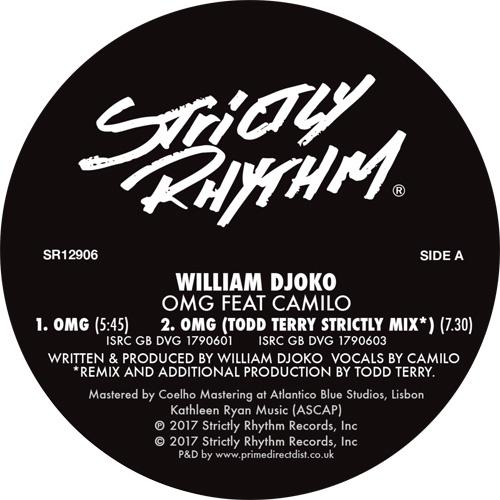 "William Djoko/OMG (TODD TERRY RMX'S) 12"""