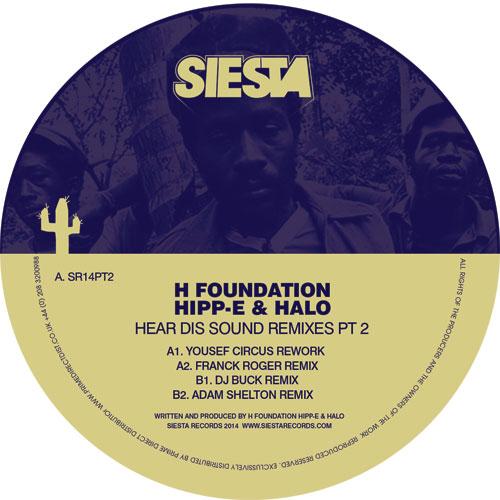 "H Foundation/HEAR DIS SOUND RMX'S #2 12"""