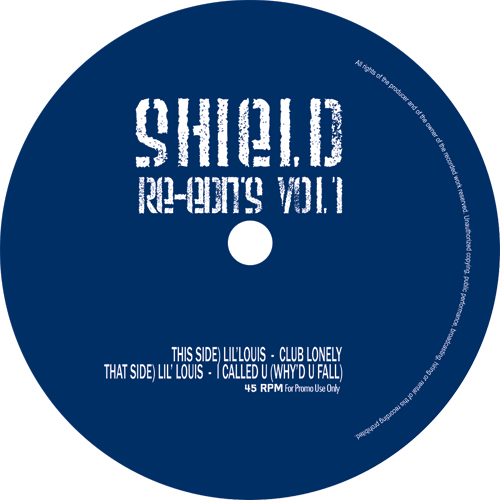 Lil Louis/CLUB LONELY (SHIELD EDIT) 12""