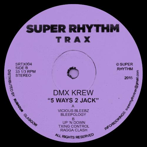 """DMX Krew/5 WAYS 2 JACK 12"""""""