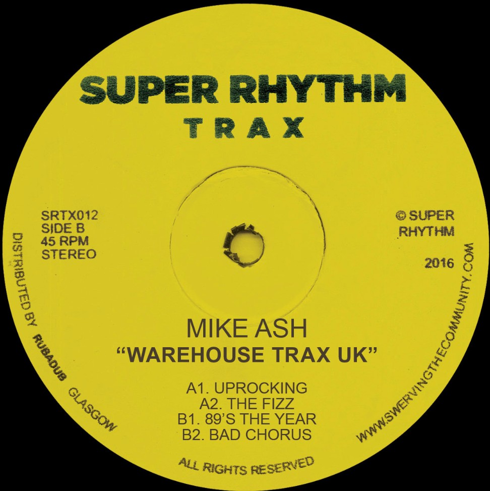Mike Ash/WAREHOUSE TRAX UK 12""