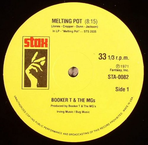 Booker T & The MGs & Bar-Kays/SPLIT 12""