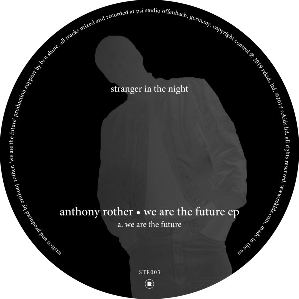 """Anthony Rother/WE ARE THE FUTURE EP 12"""""""