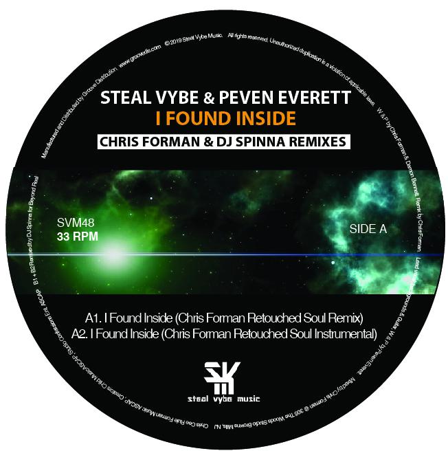 "Peven Everett/I FOUND INSIDE REMIXES 12"""