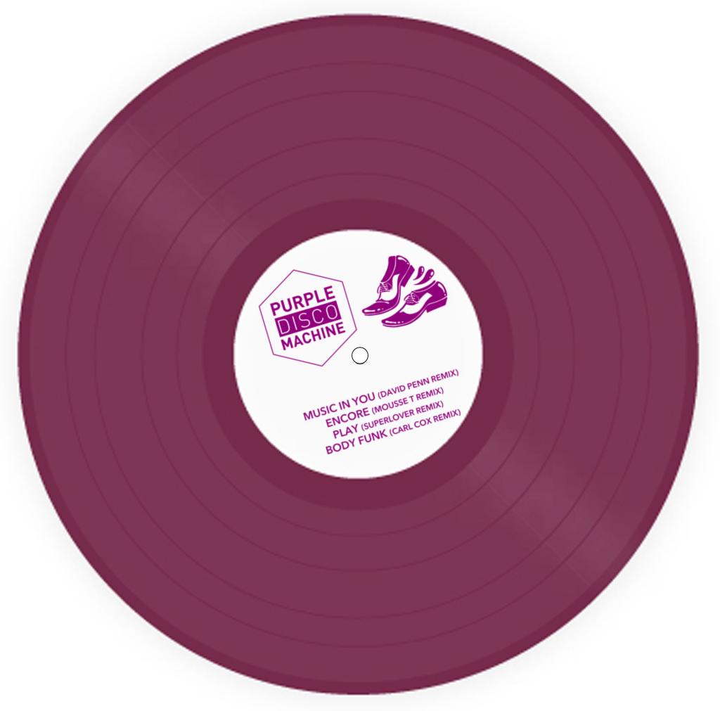 "Purple Disco Machine/SOULMATIC RMXS 12"""