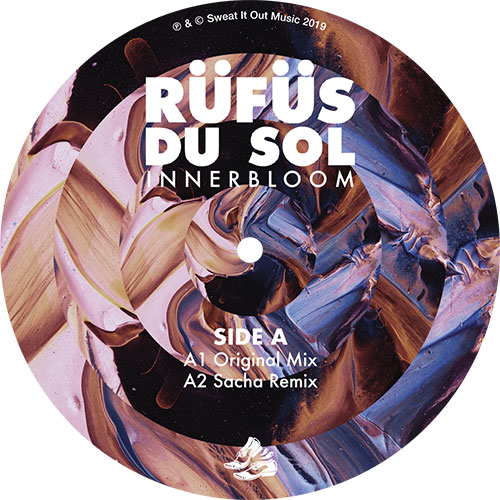 "Rufus Du Sol/INNERBLOOM RMX (BLACK) 12"""
