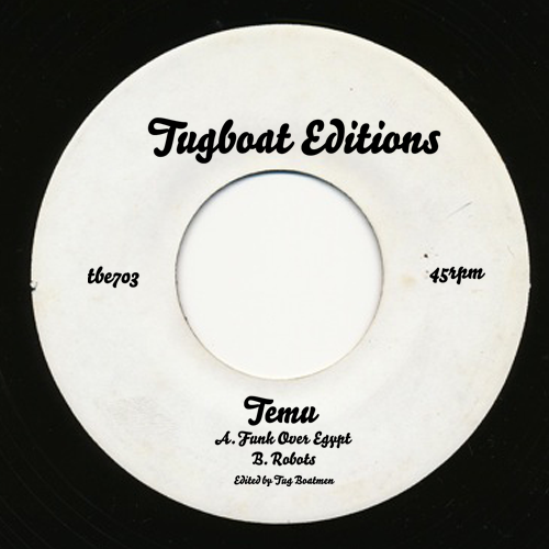 Temu/FUNK OVER EGYPT & ROBOTS 7""