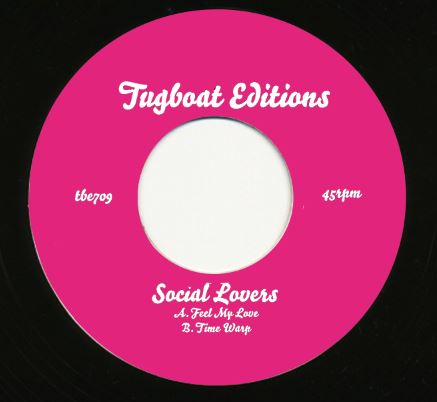 Social Lovers/FEEL MY LOVE 7""