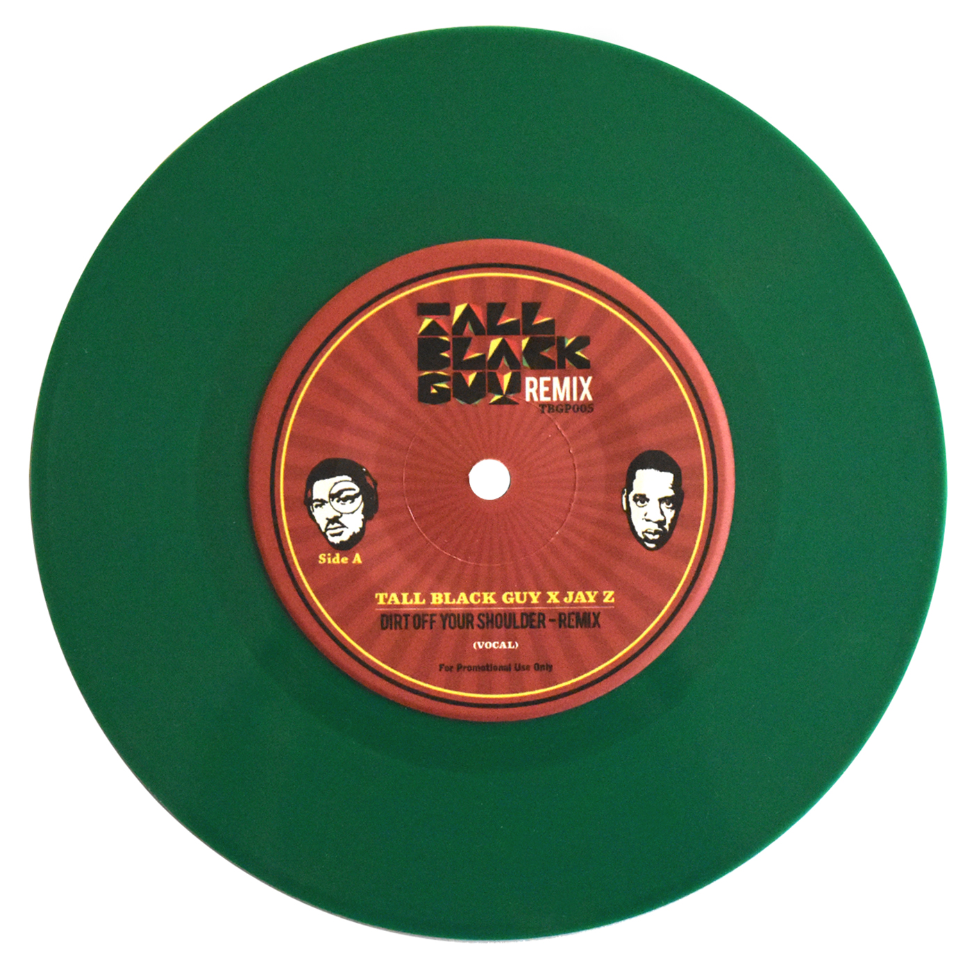 Tall Black Guy x Jay-Z/DIRT OFF.. RMX 7""