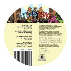 2 Bears/ONE LOVE SAMPLER 12""